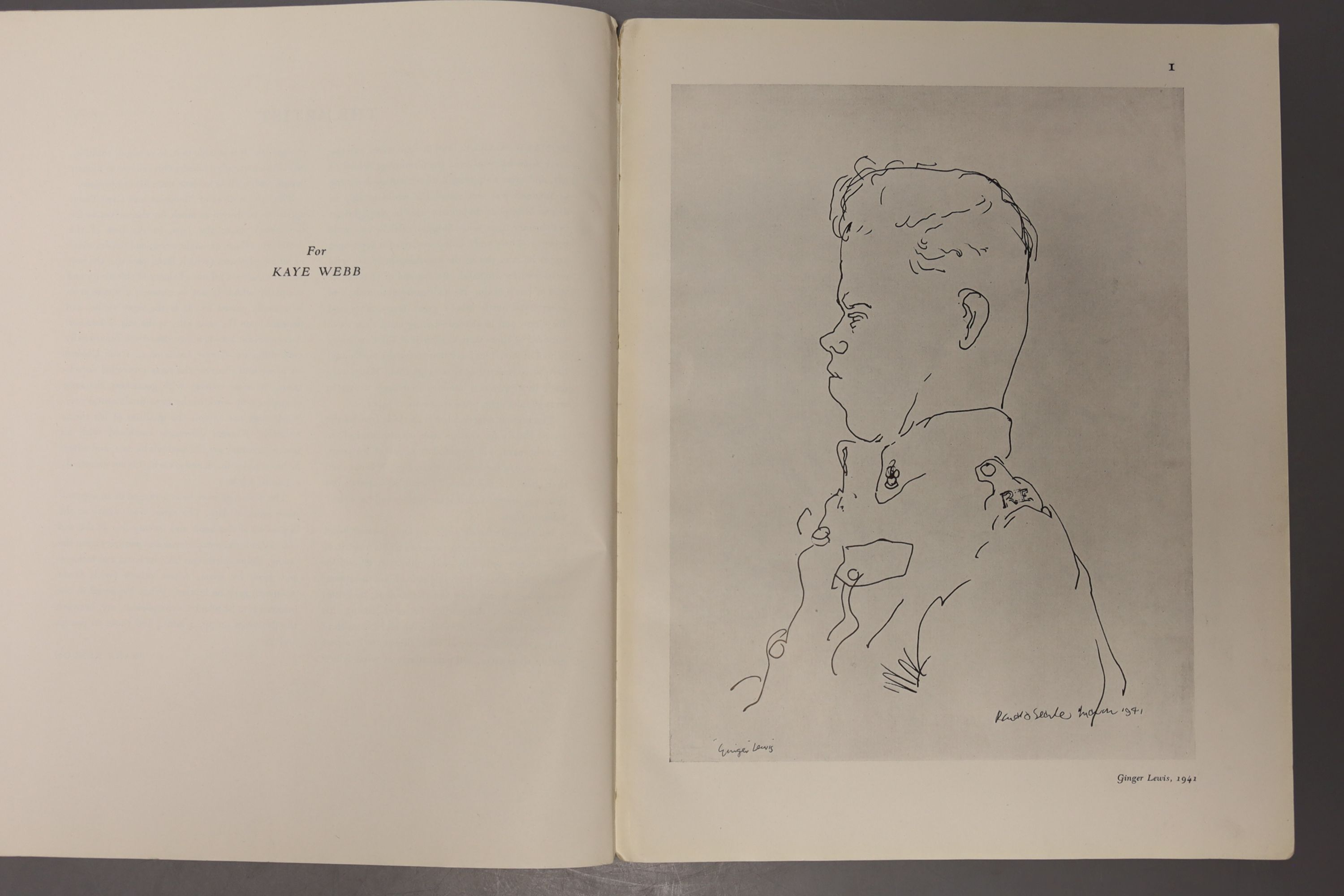 Rae, Simon & Searle, Roland, 'The Face of War', A signed limited edition numbered 103/294, - Image 9 of 10
