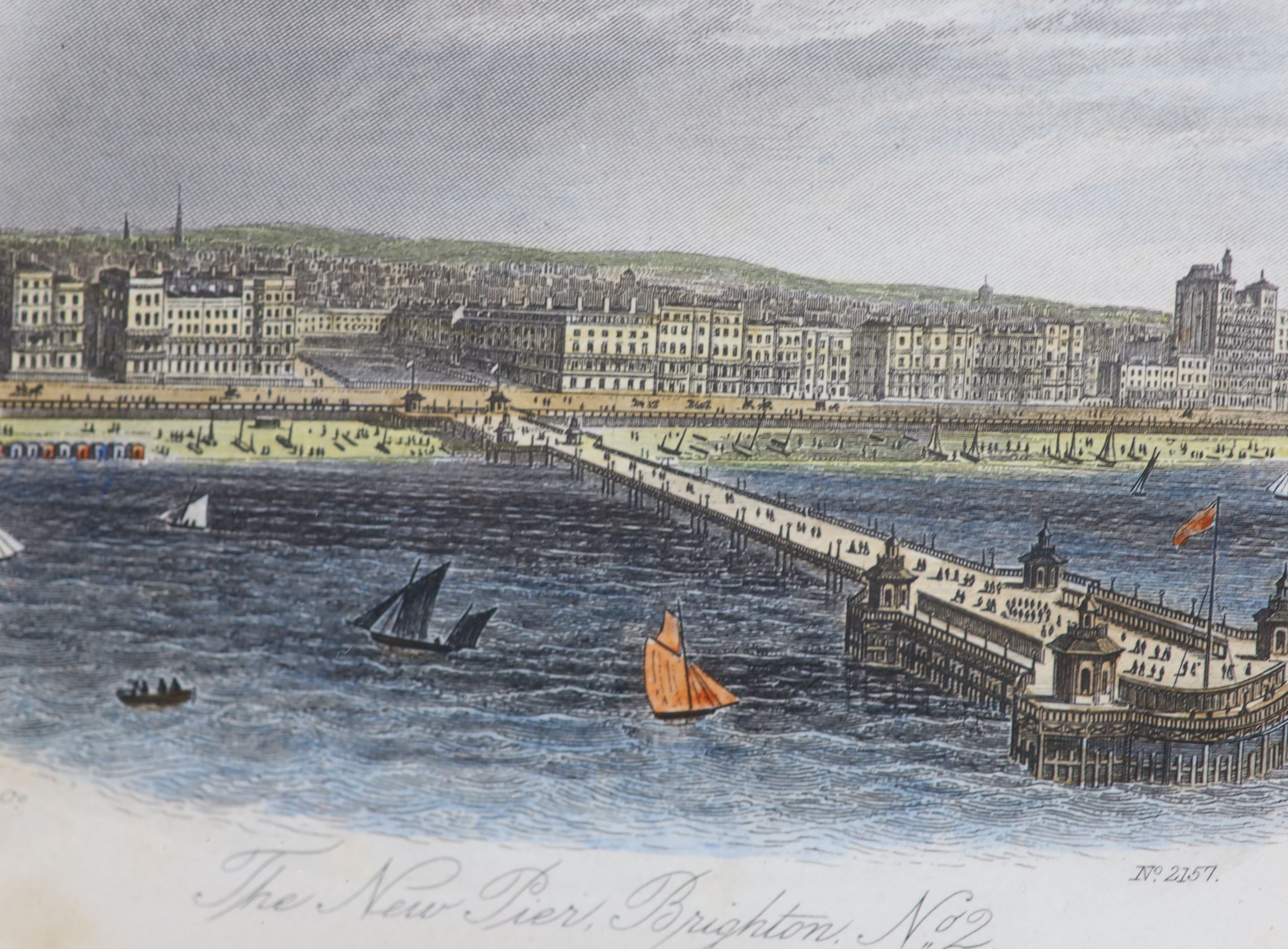 A collection of nineteen assorted 19th century Brighton related prints, largest 15 x 21cm - Image 3 of 6