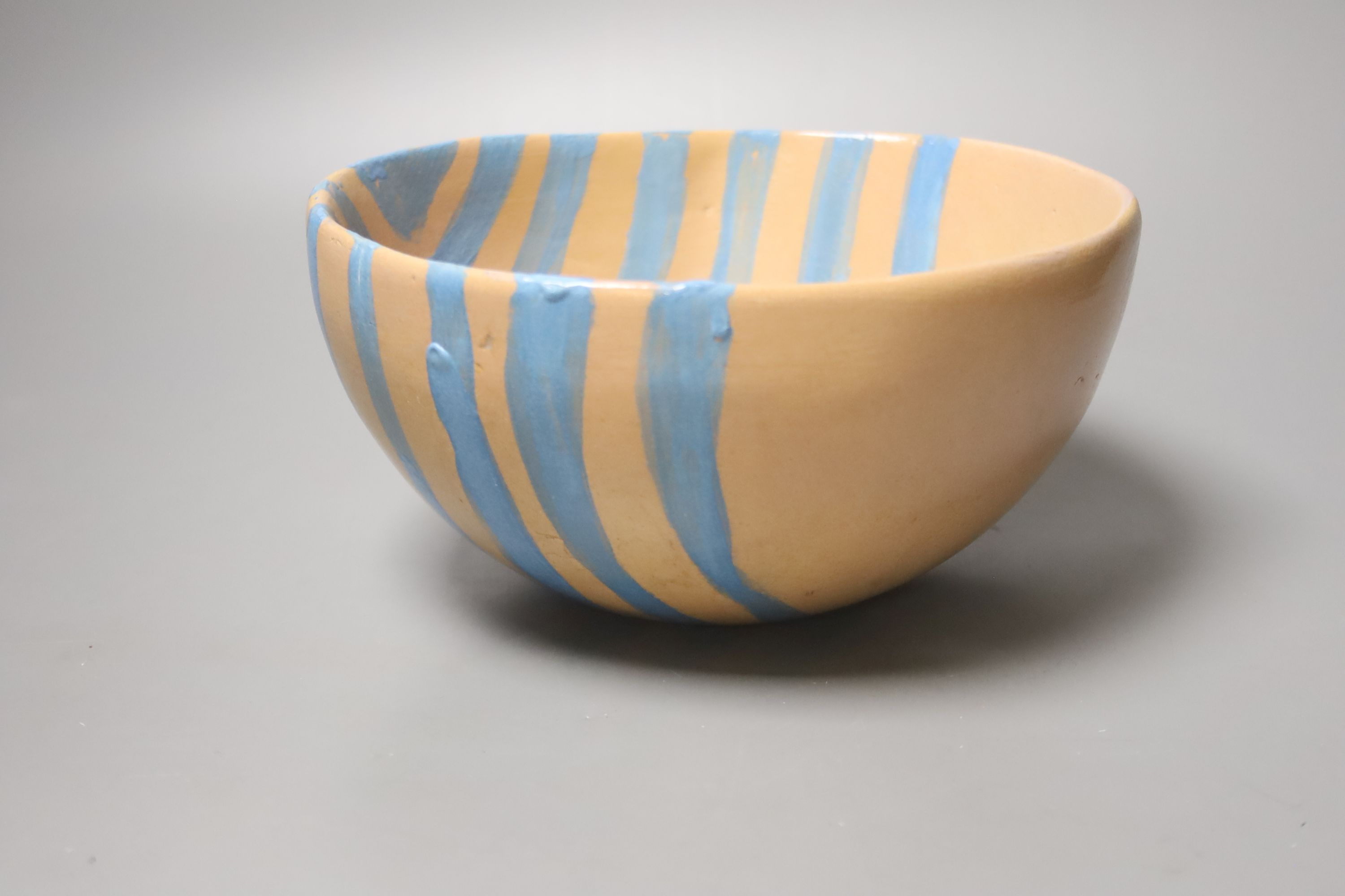 Quentin Bell. A hand painted earthenware bowl, 10cm high - Image 2 of 3
