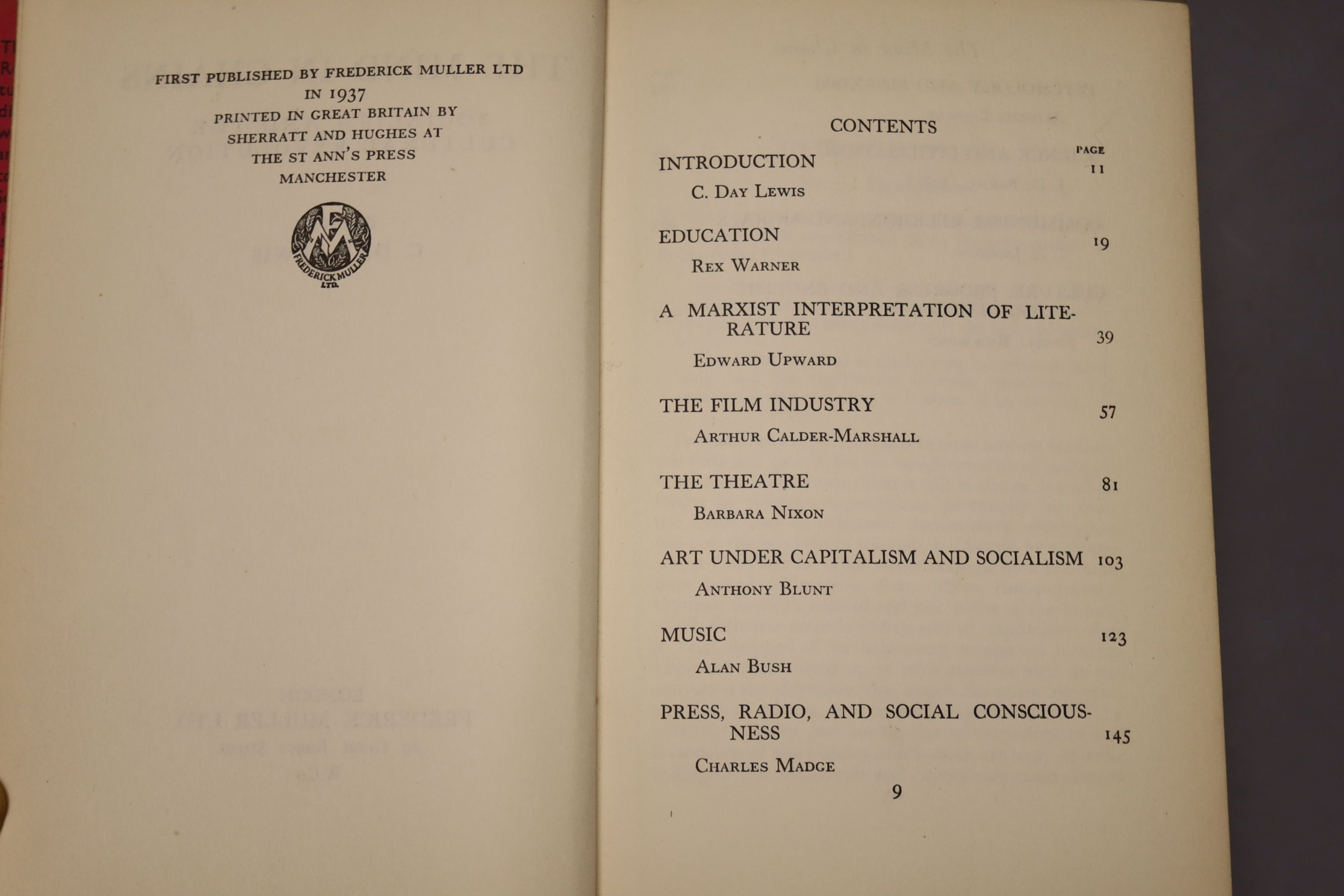 Yeats, William Butler - Last Poems, one of 2000,8vo, cloth, MacMillan, London 1940; Read, - Image 3 of 8