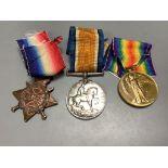 Three WW1 trios;M2-081337 Pte W.A.Cook, A.S.C.108178 Pte, G.Pearce, R.E.T1-320 L.Cpl. C.Thurston,