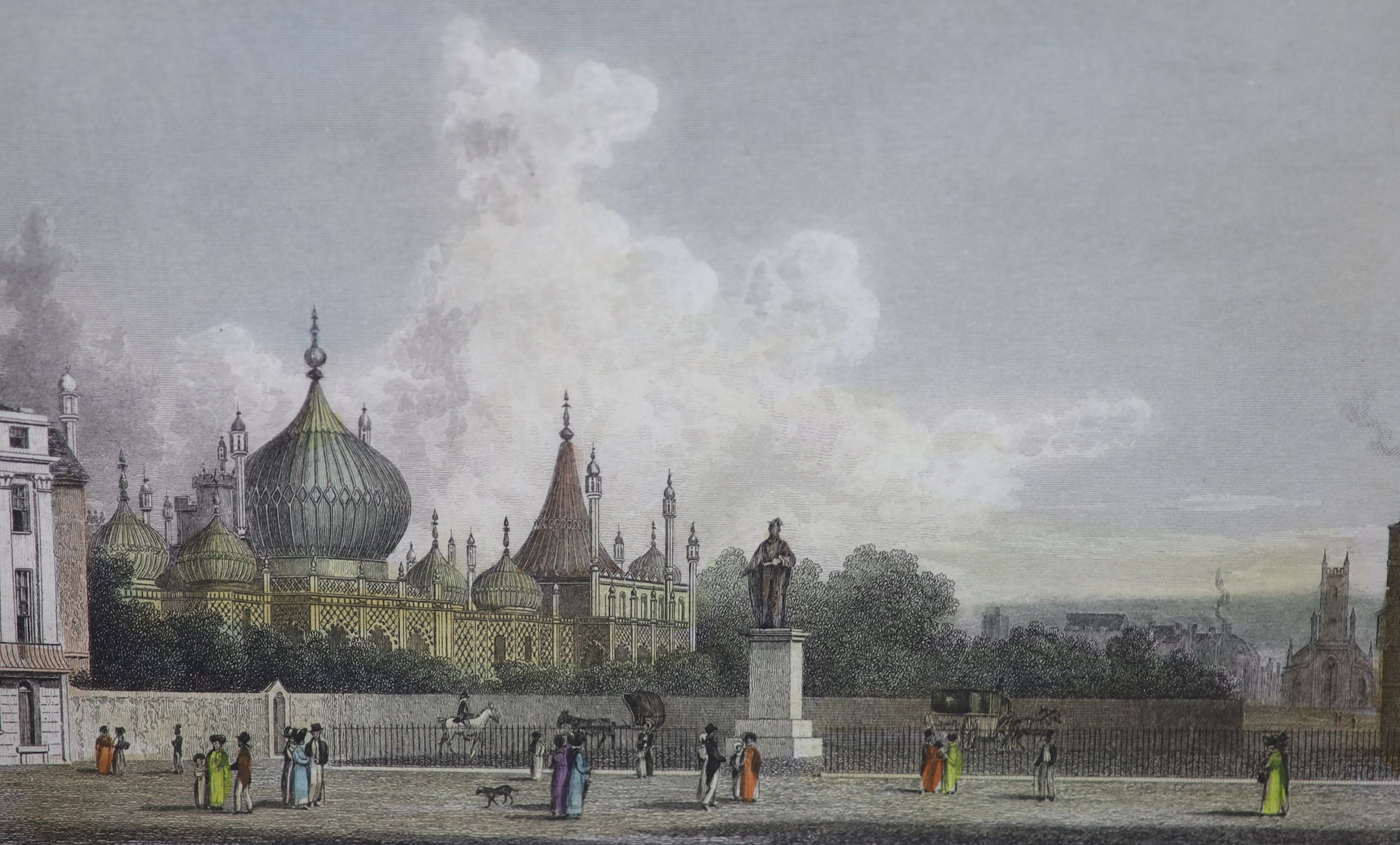 A collection of nineteen assorted 19th century Brighton related prints, largest 15 x 21cm - Image 4 of 6