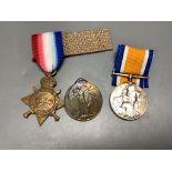 Two WW1 trios to 38782 Dvr. W.C. Lang ridge, R.E. & T31964, Dvr. C. Blockley, A.S.C.