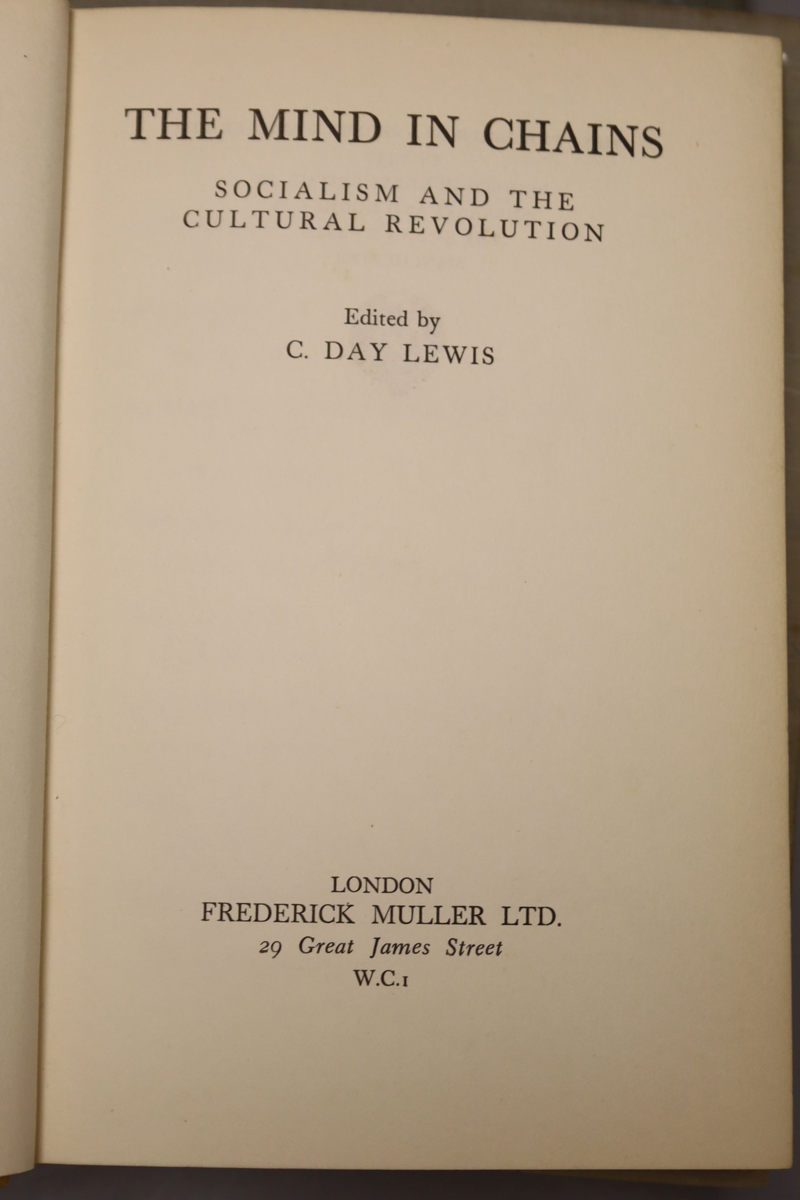 Yeats, William Butler - Last Poems, one of 2000,8vo, cloth, MacMillan, London 1940; Read, - Image 2 of 8