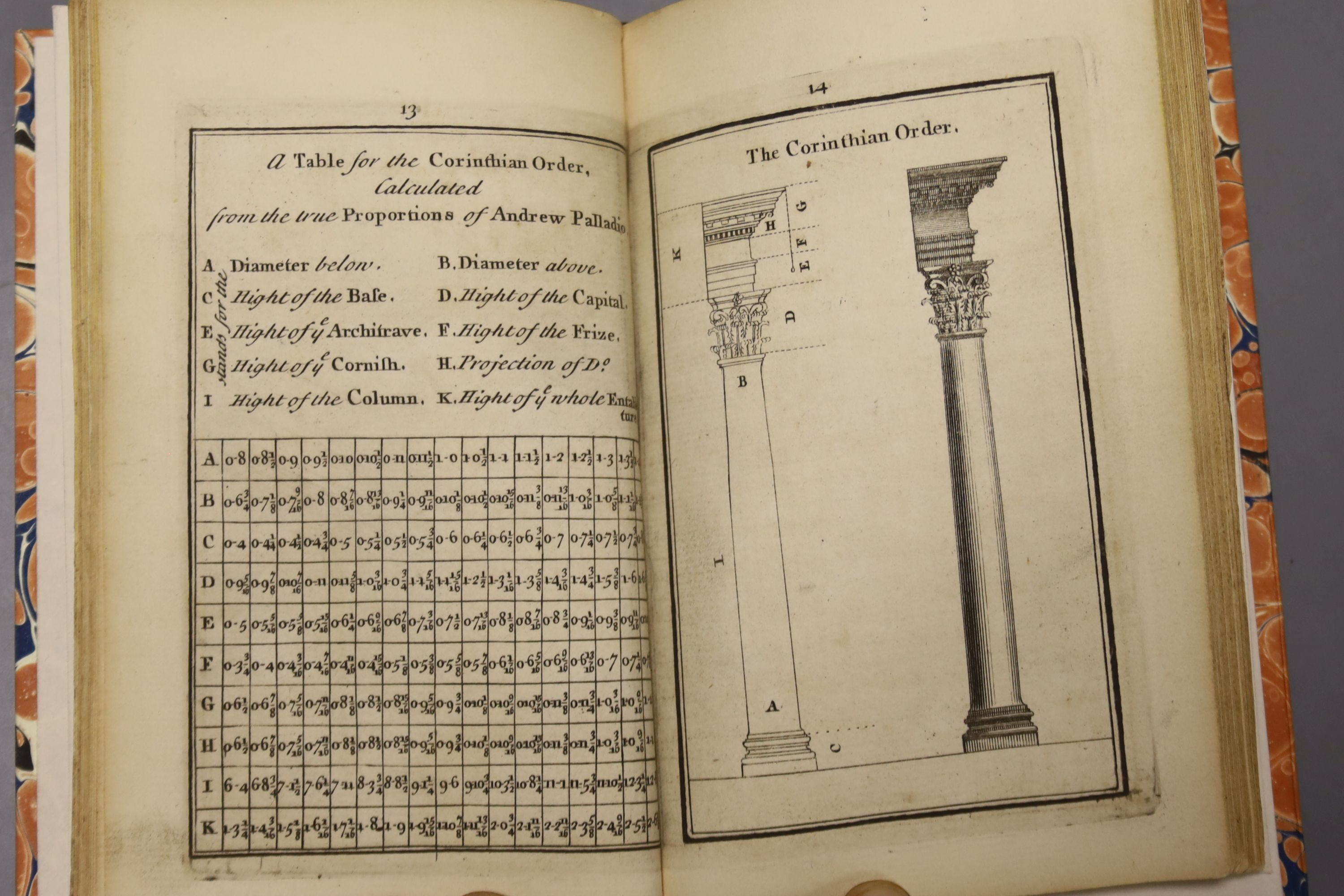 Halfpenny, William – Practical Architecture, or a Sure Guide to the true working according to the - Image 3 of 3