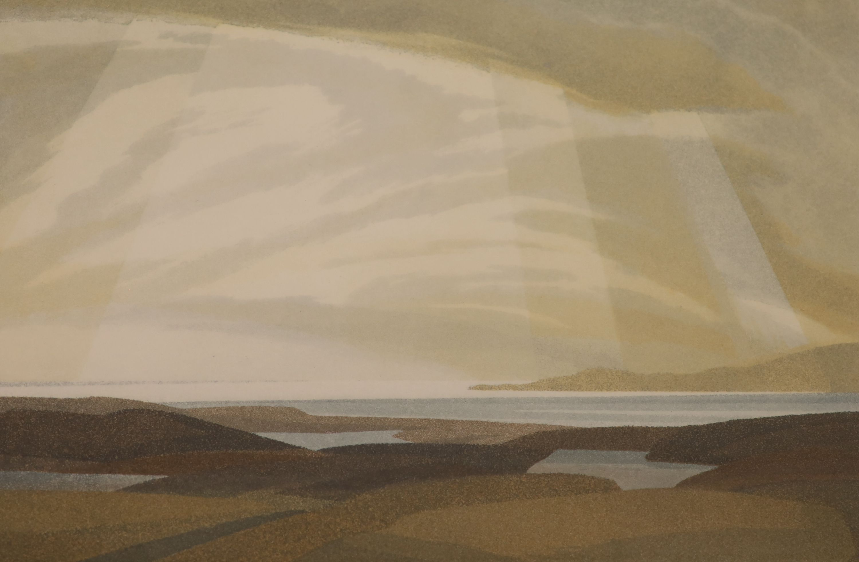 Michael Fairclough (b.1940), a set of four artist proof prints, The Hebredian Suite, signed in - Image 4 of 5
