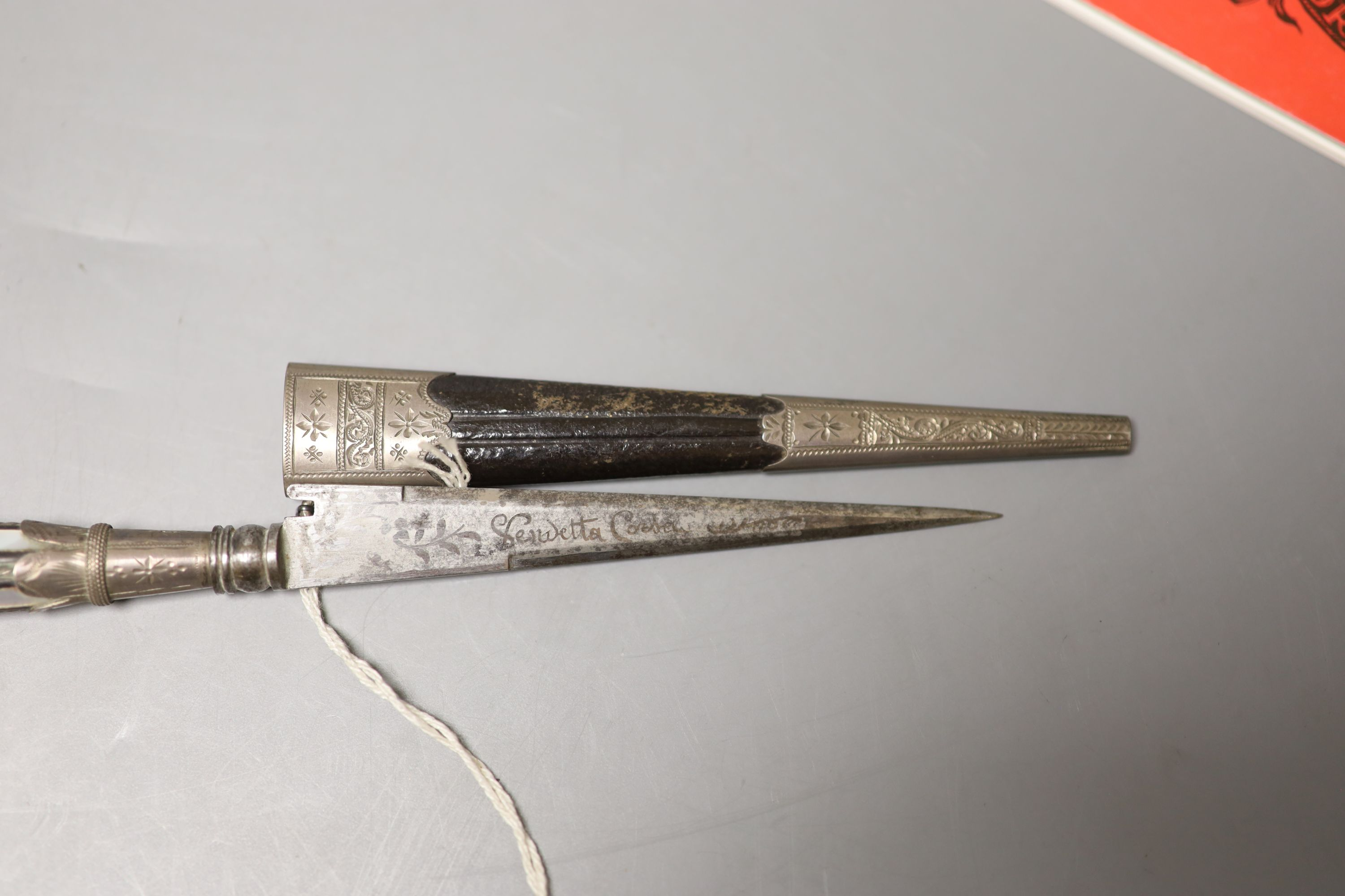 Dame Joan Sutherland memorabilia, including some Dirk sometimes used by Sutherland on stage - see - Image 5 of 7