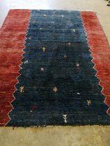 A Gabbeh carpet, 270 x 210cm