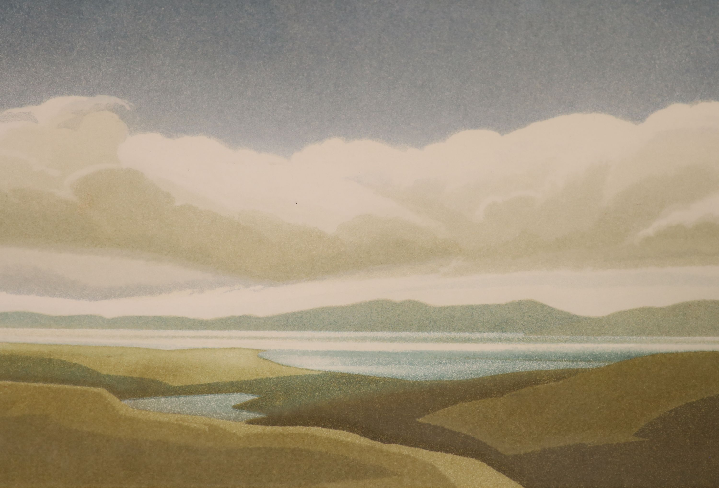 Michael Fairclough (b.1940), a set of four artist proof prints, The Hebredian Suite, signed in - Image 2 of 5