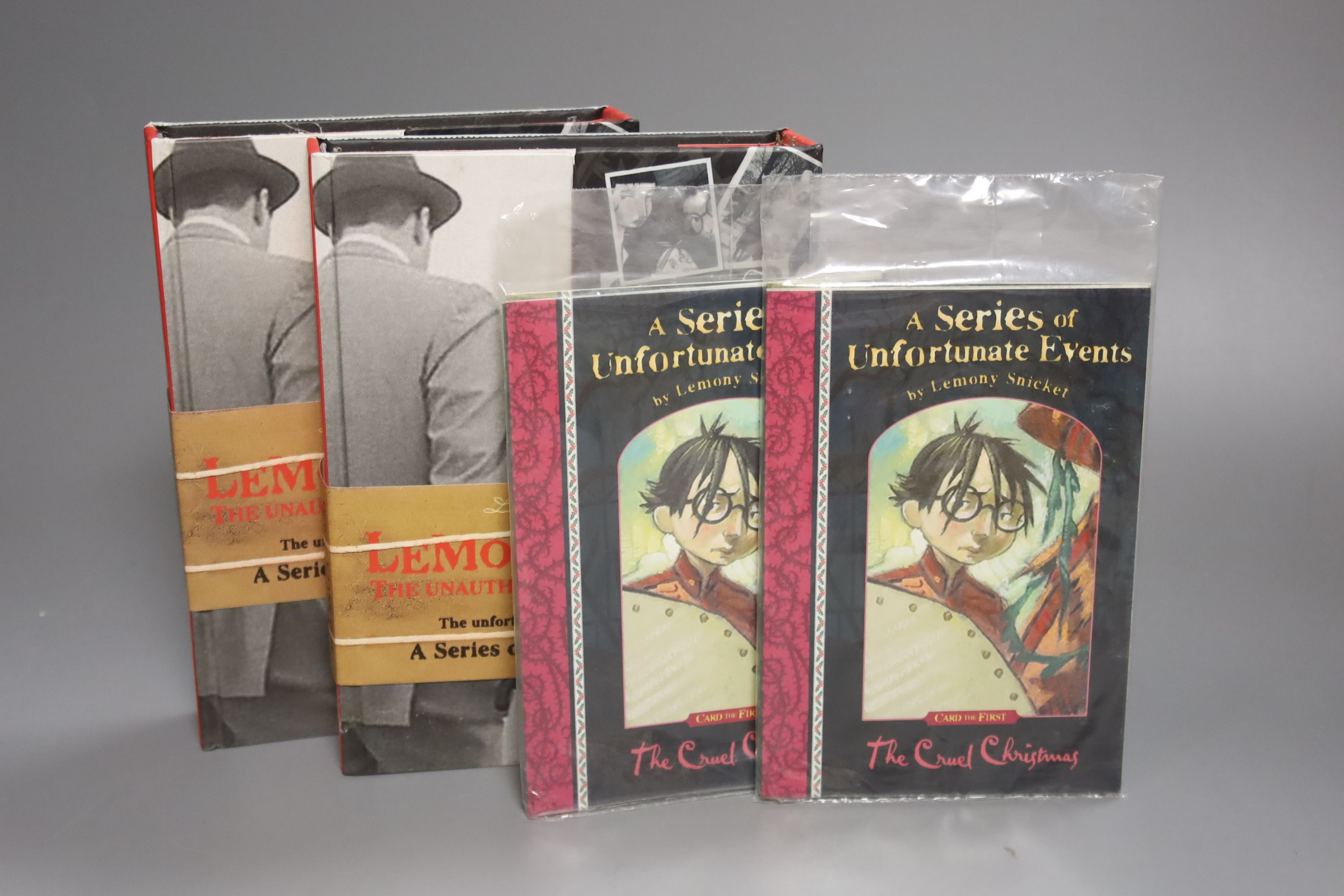 Snicket, Lemony – A Series Of Unfortunate Events (complete, books 1 – 13) 16mo, first editions, - Image 3 of 4