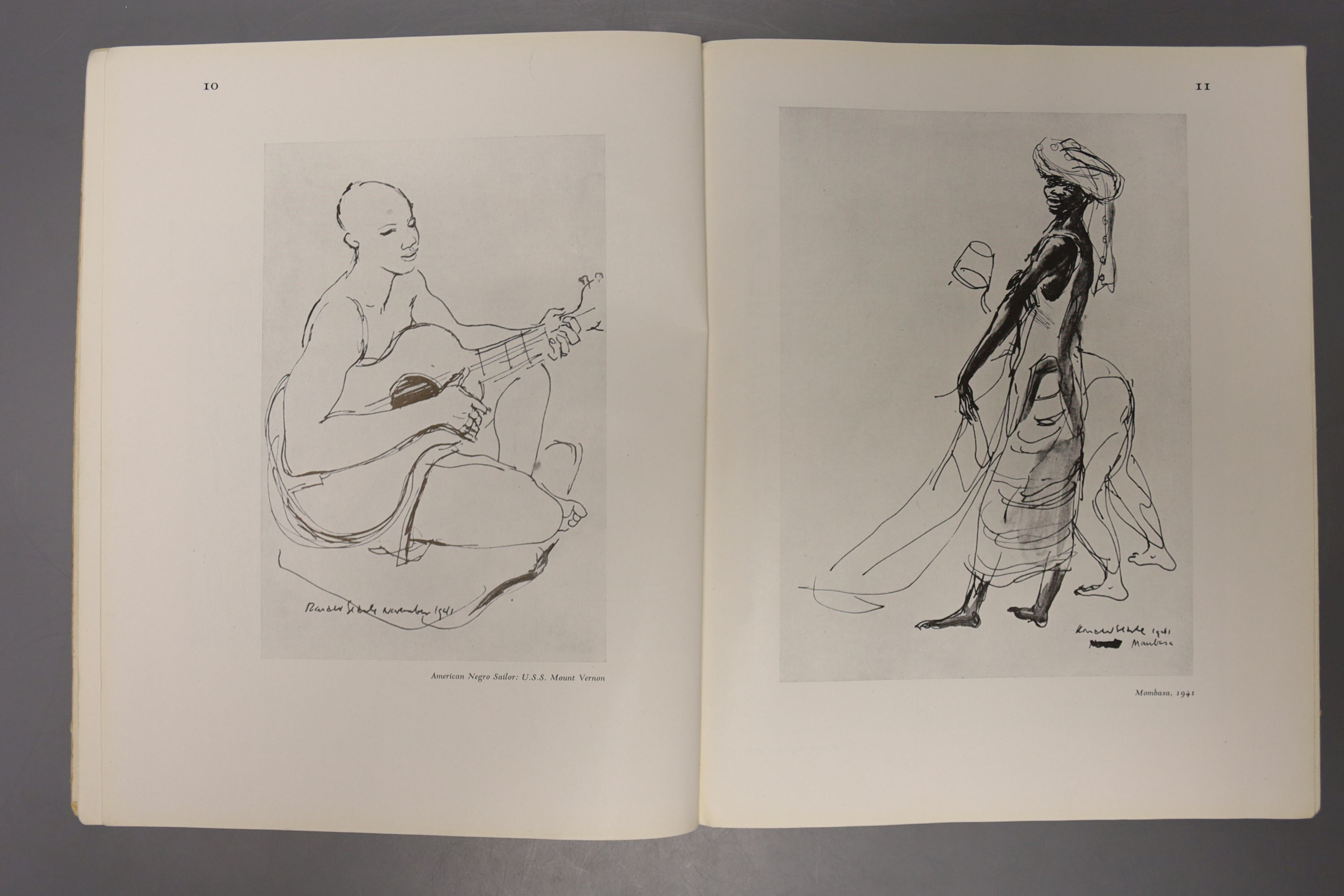 Rae, Simon & Searle, Roland, 'The Face of War', A signed limited edition numbered 103/294, - Image 10 of 10