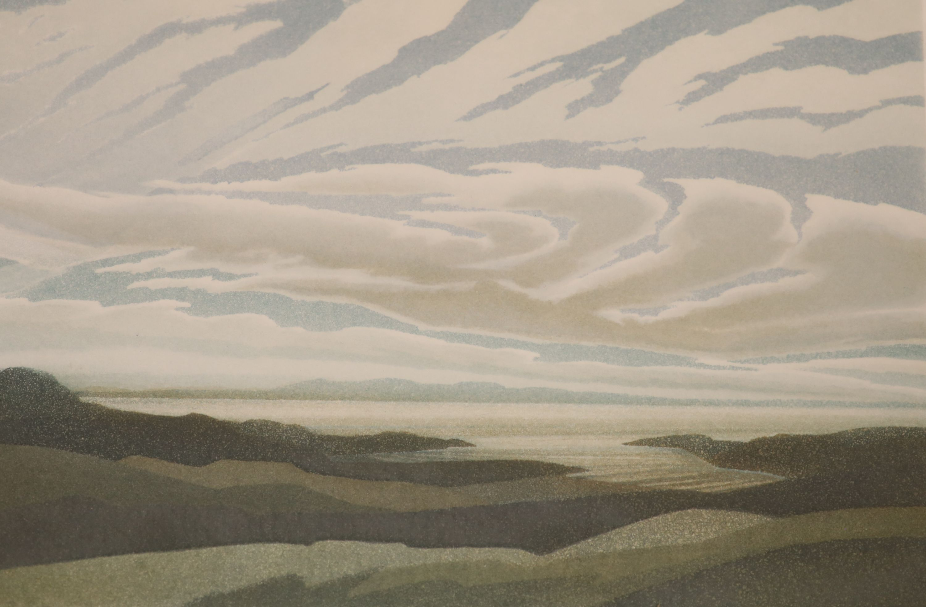 Michael Fairclough (b.1940), a set of four artist proof prints, The Hebredian Suite, signed in - Image 3 of 5