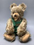 A Steiff (?) teddy bear c.1950s