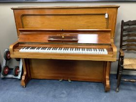 A Steinway & Sons Vertegrand upright piano, No. 126782 (1908)