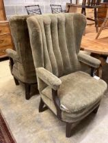 Two armchairs from the Brighton Belle, width 66cm depth 80cm height 111cm