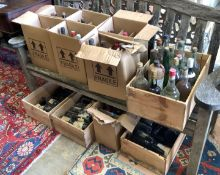 Eleven boxes of assorted wines, spirits and liqueurs