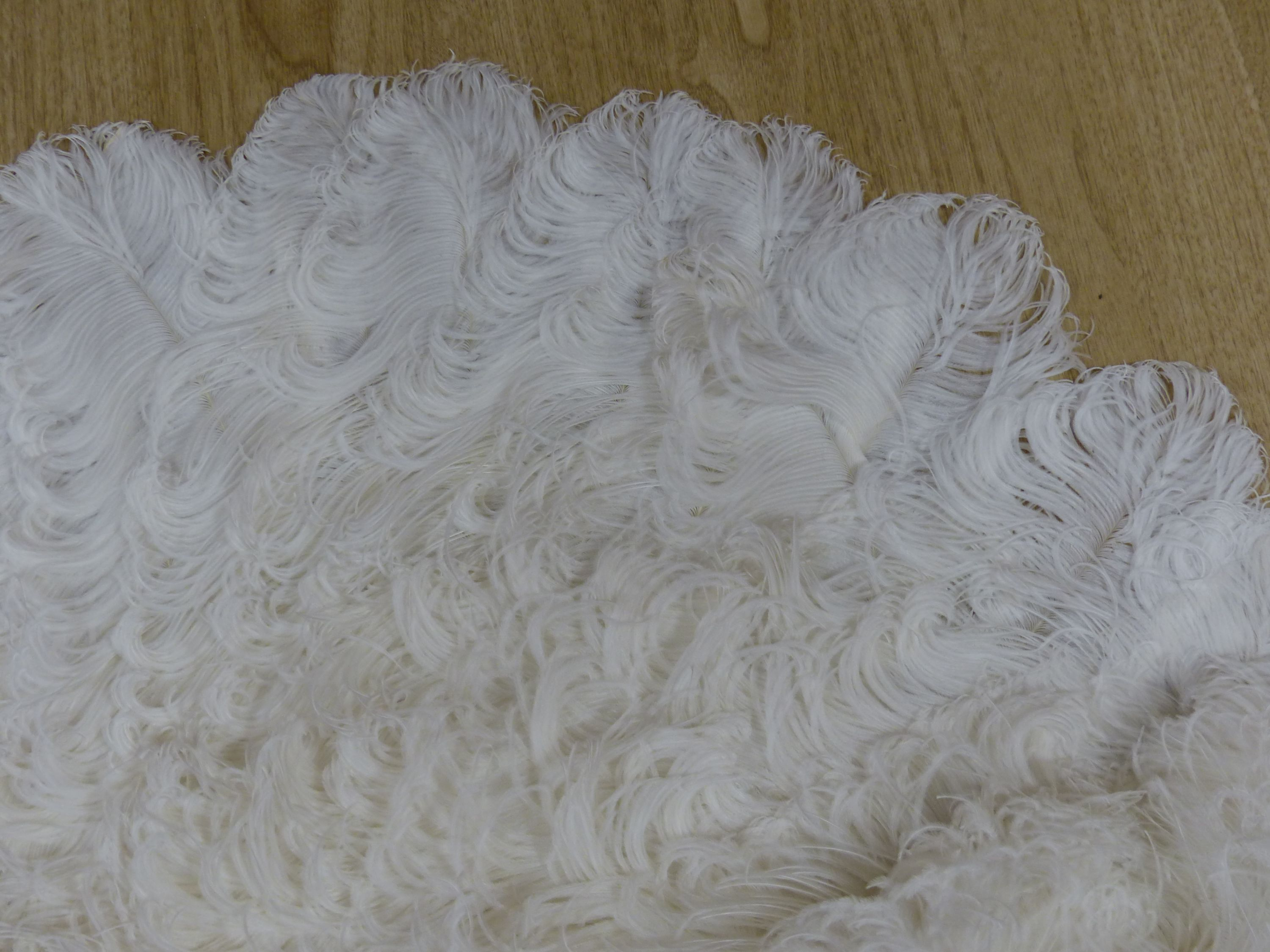 A boxed Duvelleroy ostrich feather fan, early 20th century - Image 4 of 6