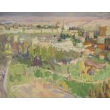 David Graham, oil on canvas, The Old City, Jerusalem, signed and dated 1982 verso, 51 x 61cm