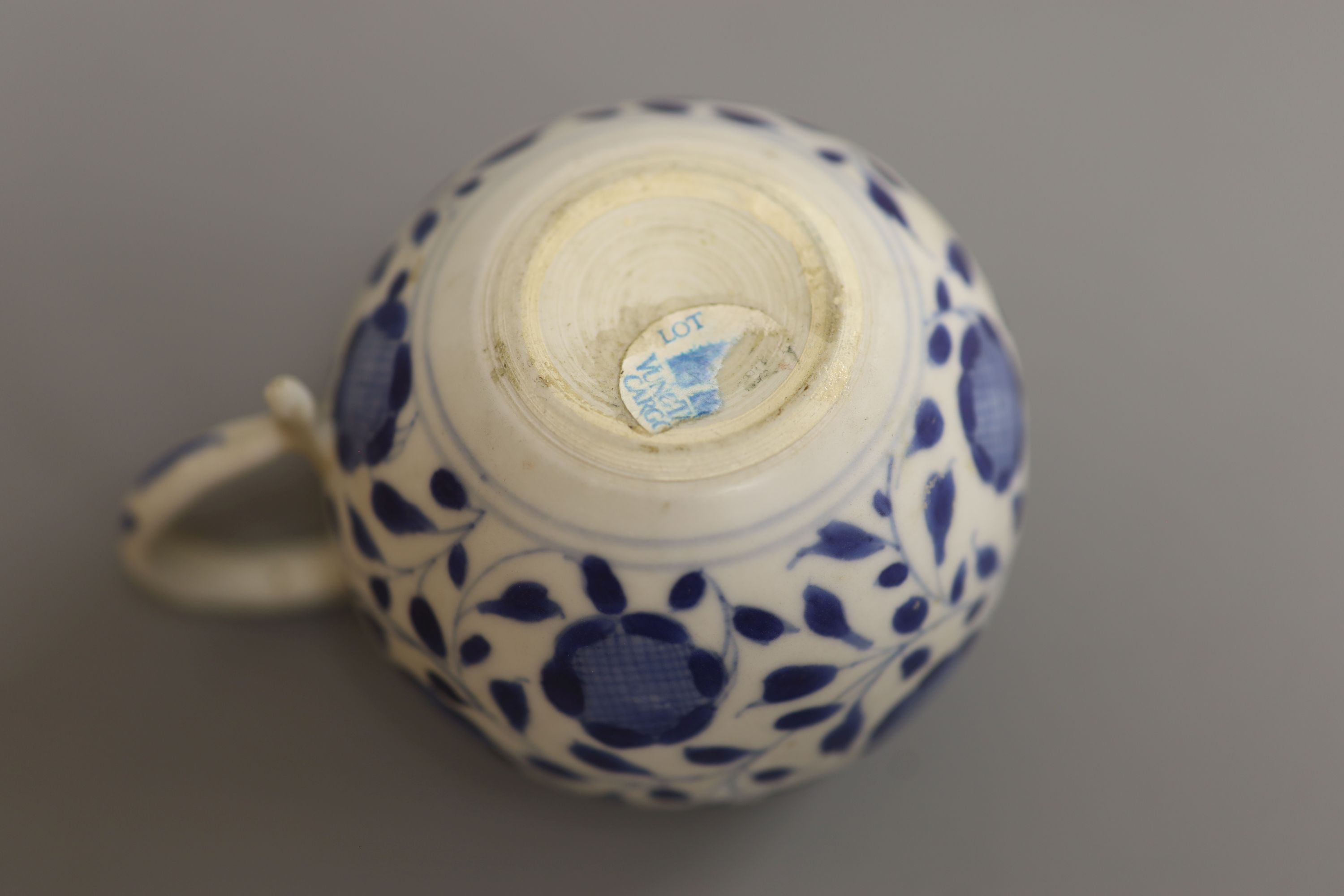 A Chinese Vungtao cargo blue and white mustard pot and cover, height 9cm - Image 7 of 7