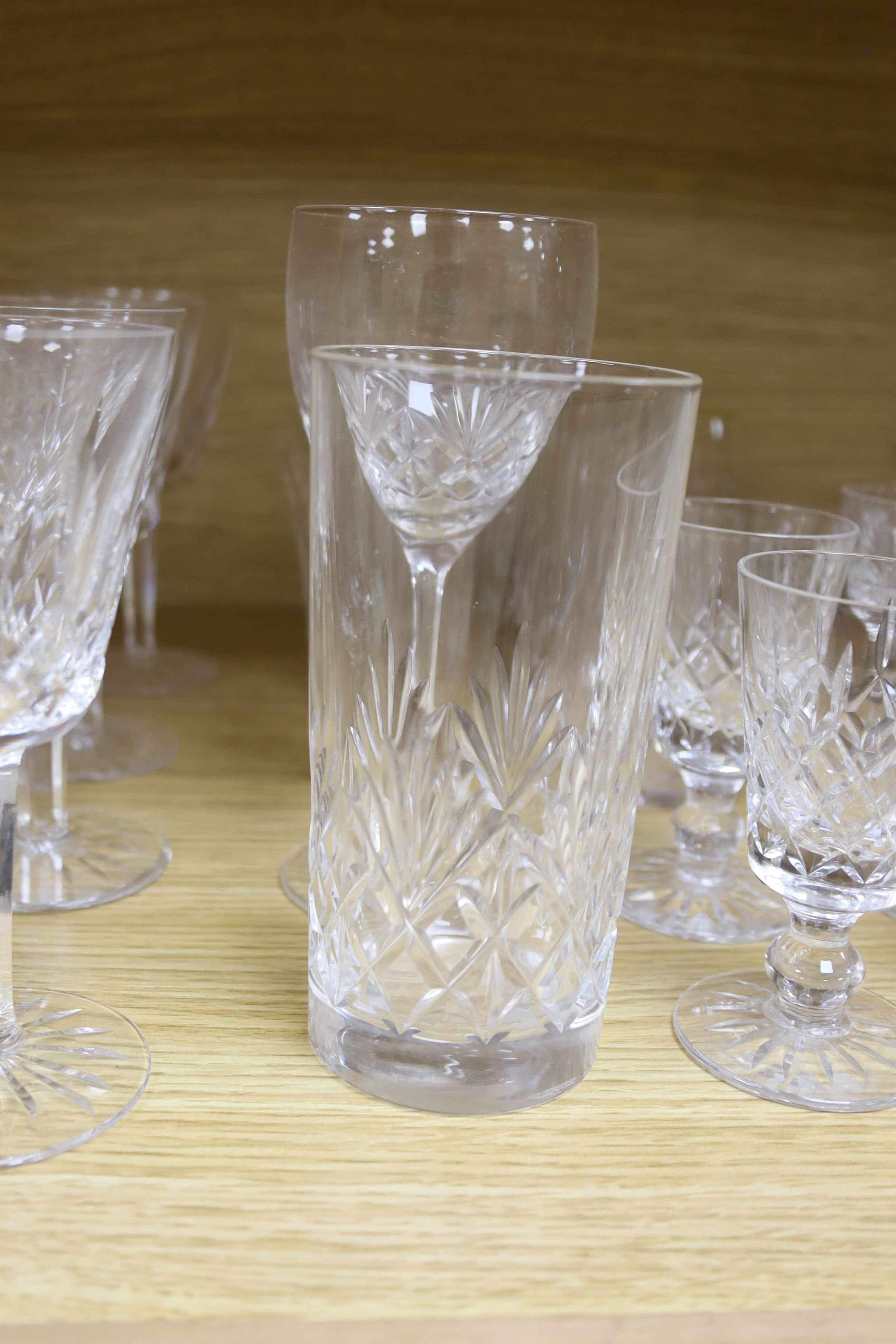 A quantity of Waterford crystal and other drinking glasses - Image 3 of 6