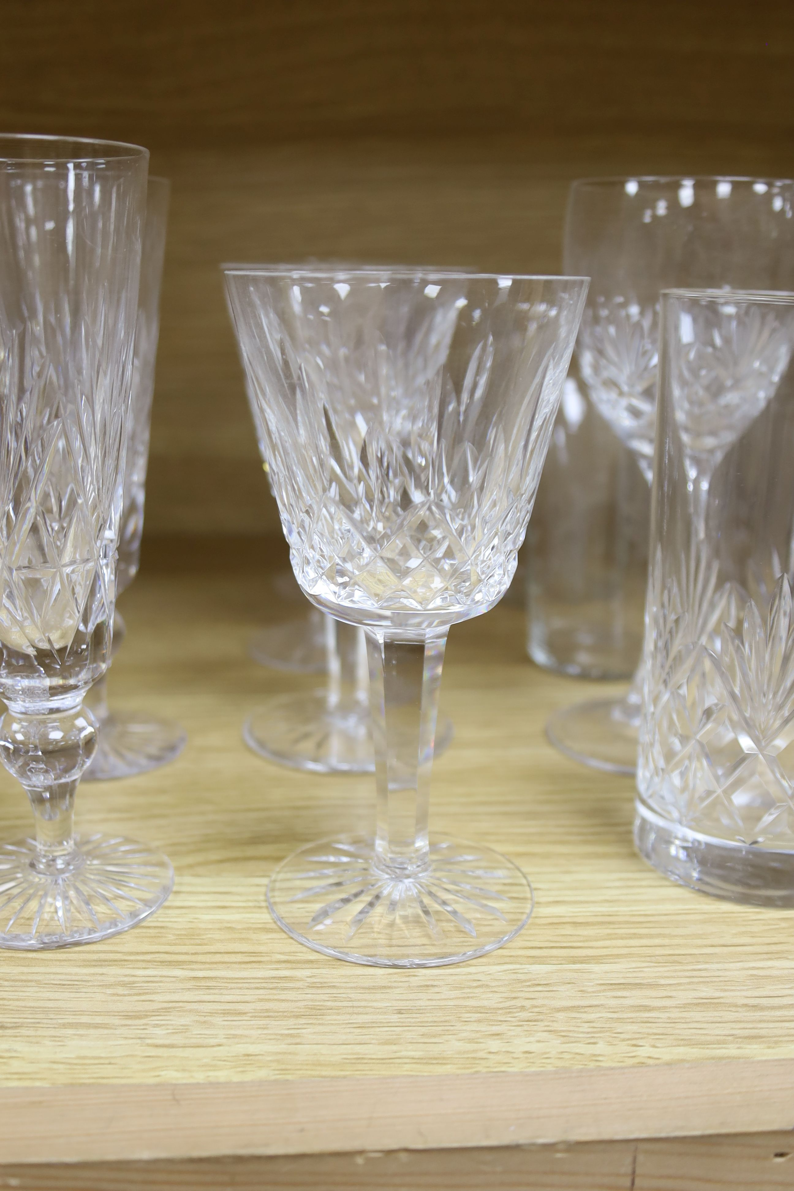 A quantity of Waterford crystal and other drinking glasses - Image 4 of 6