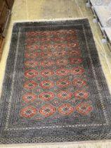 A Bokhara style rug, 273 x 194cm