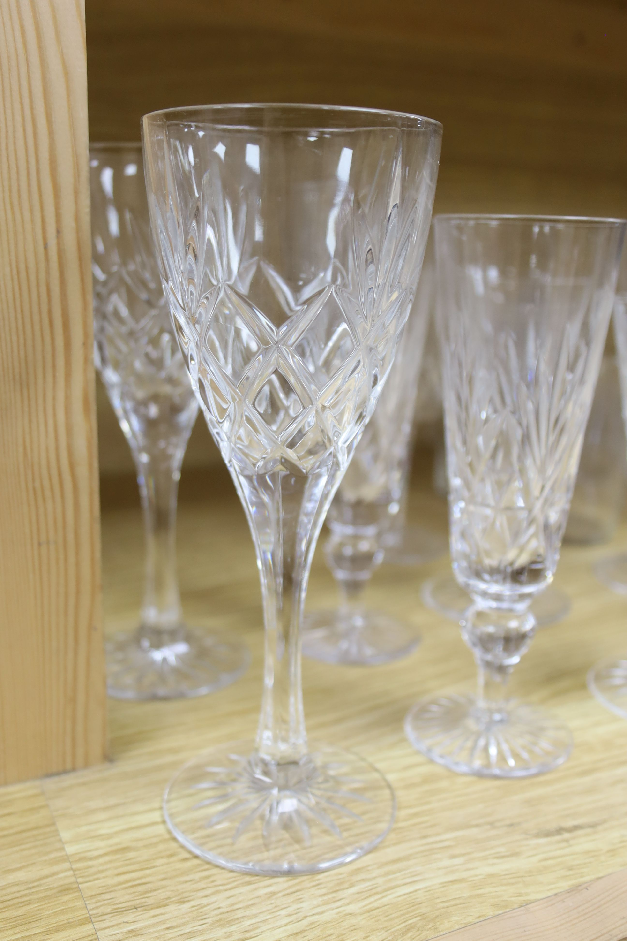 A quantity of Waterford crystal and other drinking glasses - Image 5 of 6