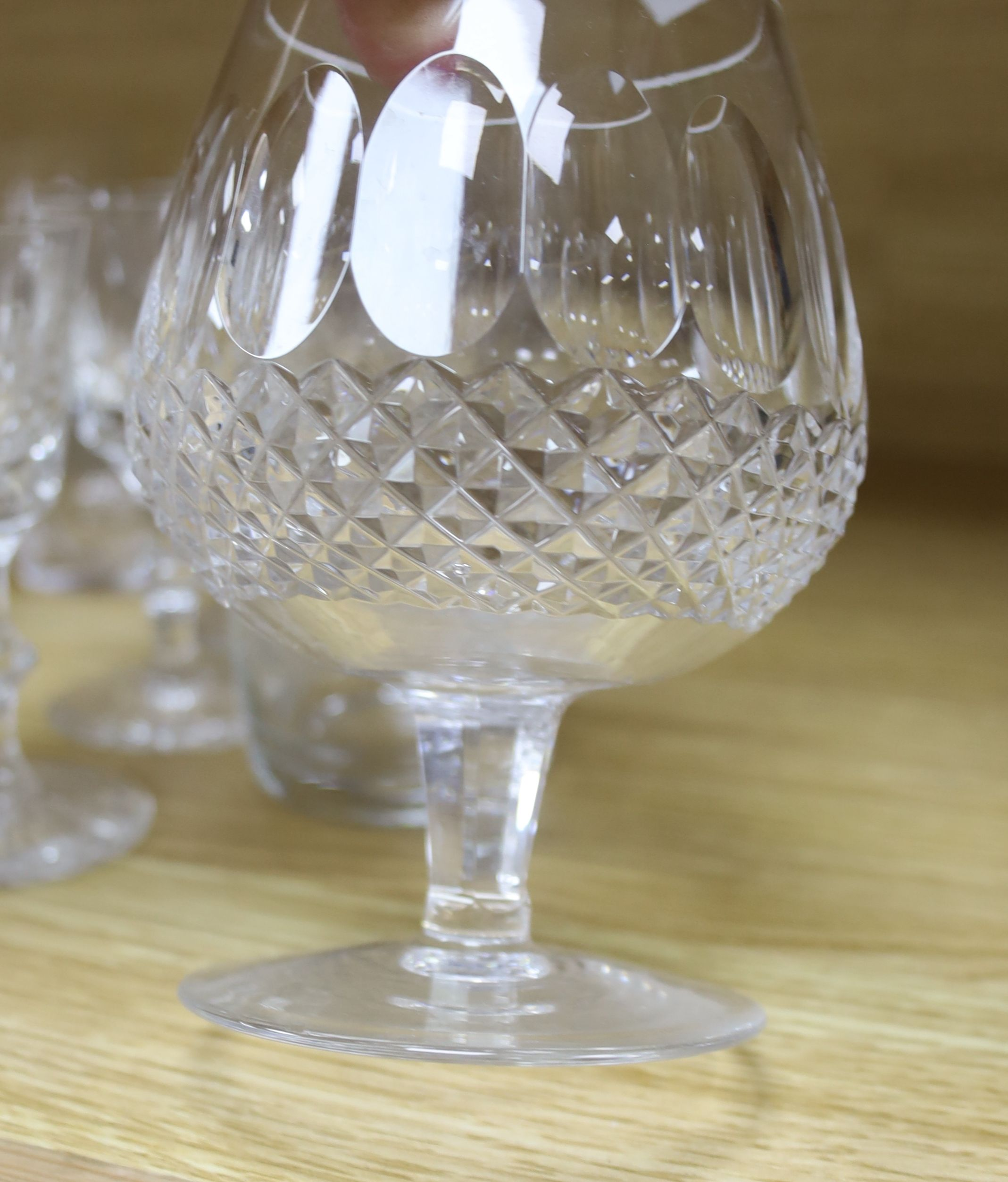 A quantity of Waterford crystal and other drinking glasses - Image 6 of 6