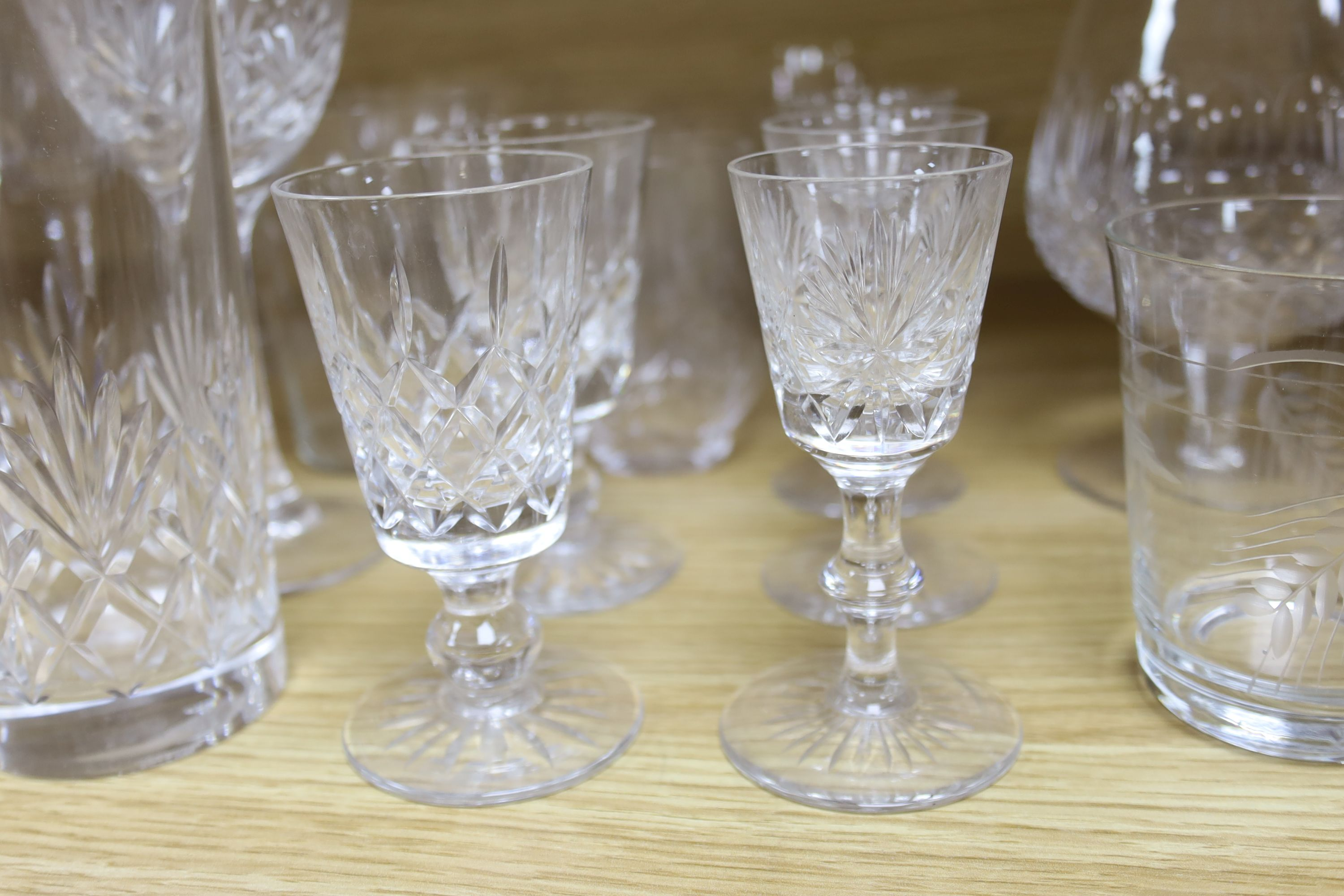 A quantity of Waterford crystal and other drinking glasses - Image 2 of 6