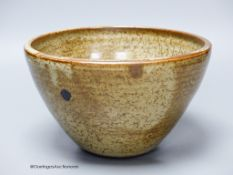 An Aylesford studio pottery bowl in David Leach style22cm diameter