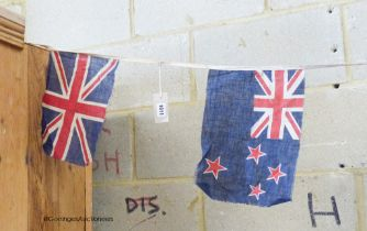 A string of Commonwealth bunting