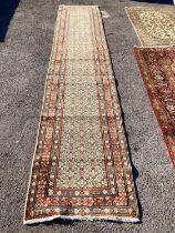 A Mood rug, 394 x 80cm