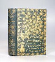 ° Austen, Jane - Pride and Prejudice, illustrated by Hugh Thomson, original gilt decorated cloth,