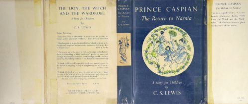 ° Lewis, Clive Staples - Prince Caspian. The Return to Narnia, 1st edition, 8vo, illustrated by