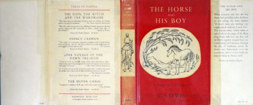 ° Lewis, Clive Staples - The Horse and His Boy, 1st edition, 8vo, illustrated by Pauline Baynes,