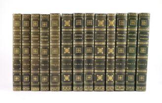 ° Botanic.... - Maund, Benjamin (editor) - The Botanic Garden, vols 1-21, in 13, qto, contemporary