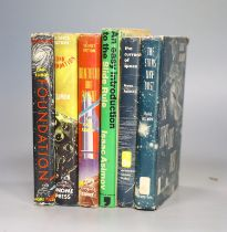 ° Asimov, Isaac - The Foundation Trilogy, all 1st editions, all in unclipped d/j', all Gnome