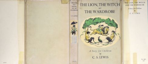 ° Lewis, Clive Staples - The Lion, the Witch and the Wardrobe,1st edition , 8vo, illustrated by