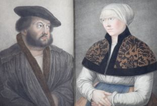 ° Holbein, Hans - Imitations of Original Drawings by Hans Holbein in the Collection of His
