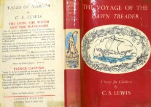 ° Lewis, Clive Staples - The Voyage of the Dawn Treader, 1st edition, 8vo, illustrated by Pauline