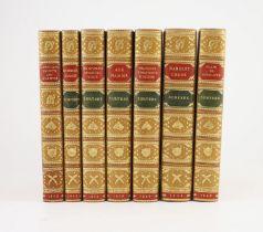 ° Surtees, Robert Smith - [Sporting Novels], 7 vols, calf gilt, comprising, Jorrick's Jaunts and
