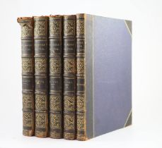 ° Wilson, Charles William, Sir - Picturesque Palestine, 5 vols, including supplement (Social Life in