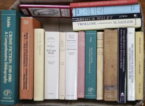 ° 20th Century Bibliographies:-Ritchie: Harold Acton, 1984Mackenzie: William Cory, 1950Fifoot: