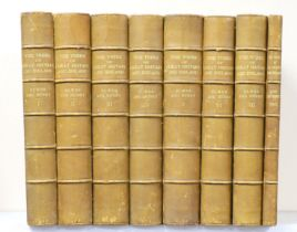 ° Elwes, Henry John and Henry, Augustine - The Trees of Great Britain and Ireland, 8 vols