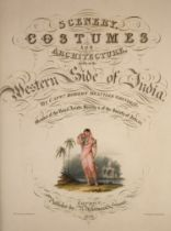 ° Grindlay, Captain Robert Melville - Scenery, Costumes and Architecture, Chiefly on the Western