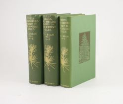 ° Bean. W.J - Trees and Shrubs Hardy in the British Isles, 3 vols, 4th edition, 8vo, green pictorial
