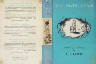 ° Lewis, Clive Staples - The Silver Chair, 1st edition, 8vo, illustrated by Pauline Baynes, original
