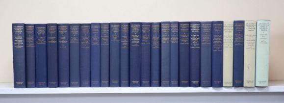 ° Freud, Sigmund - The Complete Psychological Works of Sigmund Freud, 24 vols, 8vo, blue cloth,