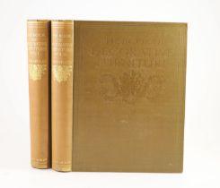 ° Foley, Edwin - The Book of Decorative Furniture, 2 vols, qto, brown cloth, gilt lettered, T.C. &