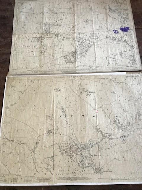 THIRTY 1:2500 ORDNANCE SURVEY MAPS featuring West Buckland, West Monkton, Dommett, Turlbear, Stoke - Image 2 of 16